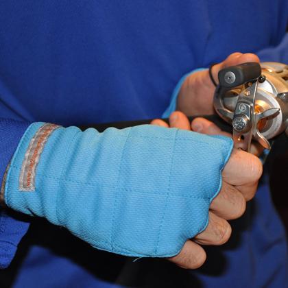 50 upf fingerless sun gloves for Fishing sun gloves